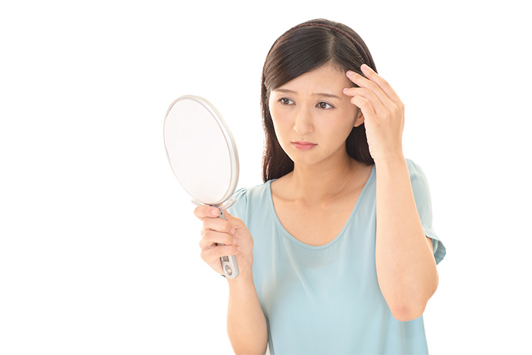 郡山市で女性の薄毛治療のアークAGAクリニックが女性の薄毛の原因を解説